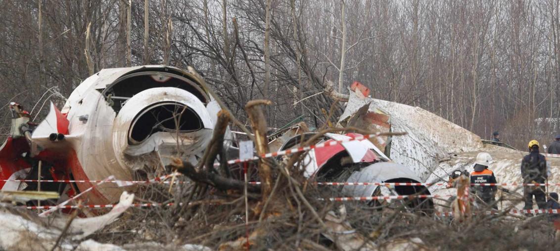 Kaczynski Plane Crash