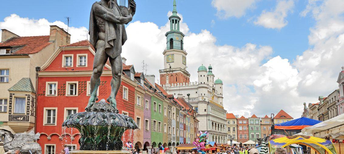 Market square, Poznan, Poland