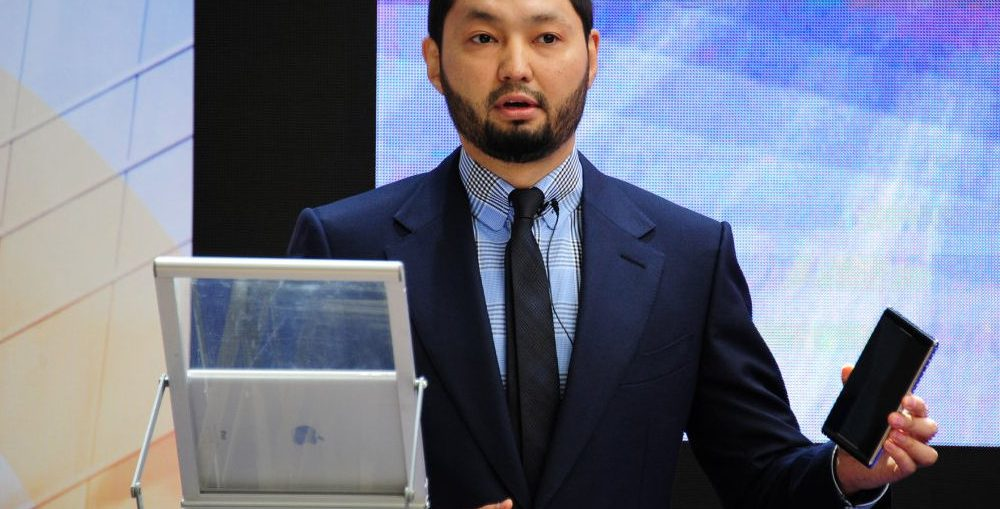 Kenges Rakishev, the leading Kazakhstan entrepreneur.