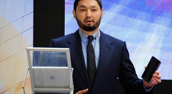 Kenges Rakishev, the leading Kazakhstan entrepreneur.