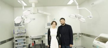 Aselle Tasmagambetova and Kenes Rakishev opened Saby charity 18 years ago.