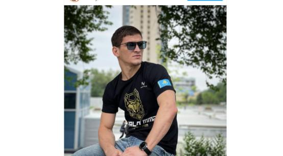 Movsar Yevloev thanks Kenes Rakishev for the opportunity to join Arlan MMA