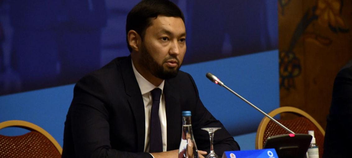 Kenes Rakishev expresses condolences on occasion of death of Amangelda Seitkhan
